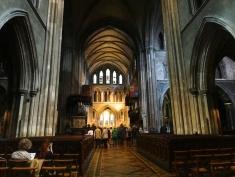 Inside Saint Patrick's Cathedral