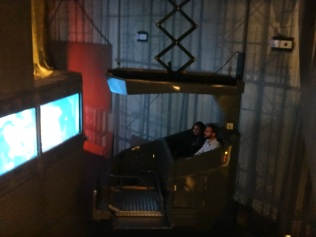 The dark ride on the Titanic Belfast Museum